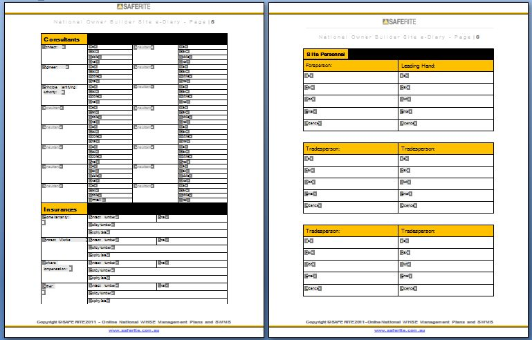 Construction Invoice Templates - Document Templates Download